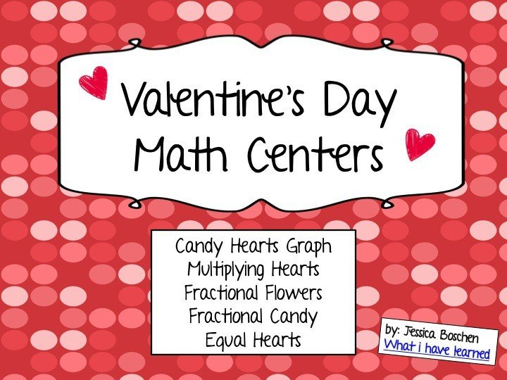 Valentine S Day Math Pack Graphing Fractions