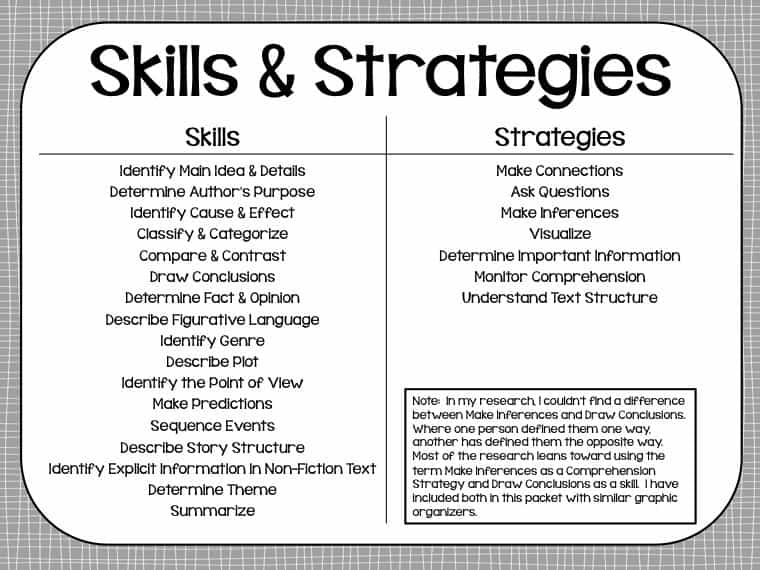 Reading Skills - Lessons - Tes Teach