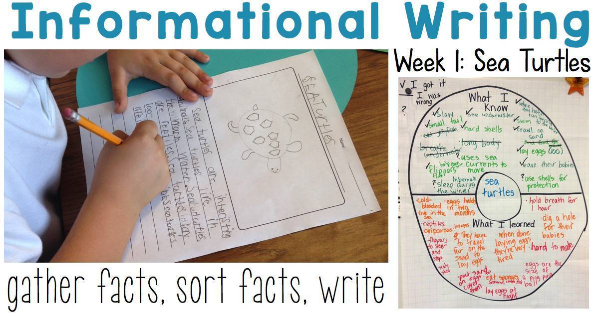 Informational-Writing-Week-2 Examples Of Nd Grade Information Writing on worksheets about.me, essay worksheets, prompts starter,