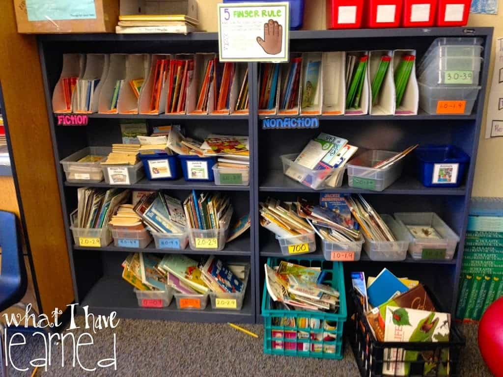 Classroom Library I Need Your Input