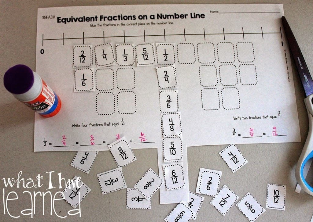 Cut And Paste Math Worksheets For 3rd Grade - Proga | Info
