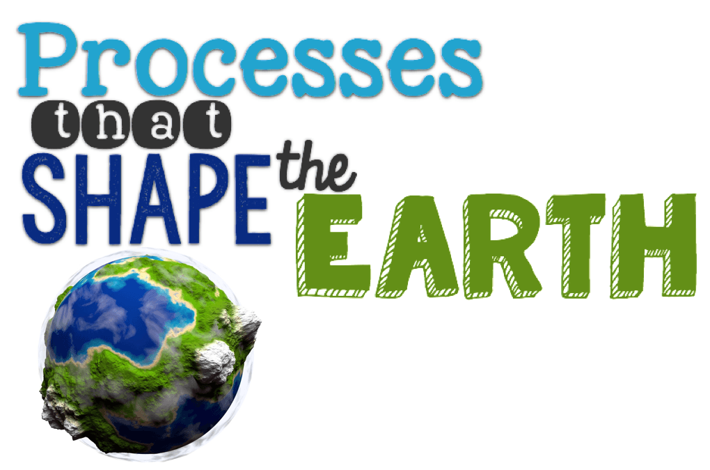 Processes That Shape The Earth on first grade sight words