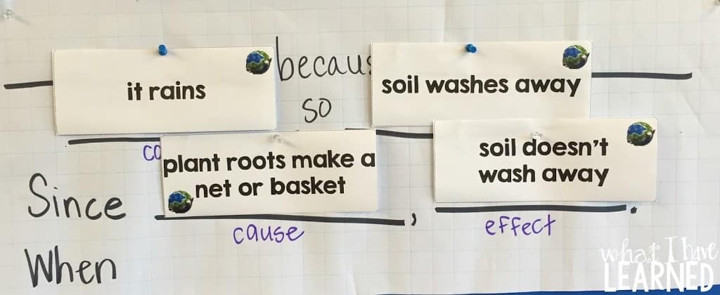 Teach and Practice Cause & Effect with Soil Erosion - Integrated ELD