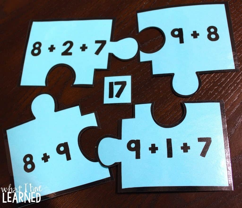 Compose & Decompose Numbers for Addition & Subtraction