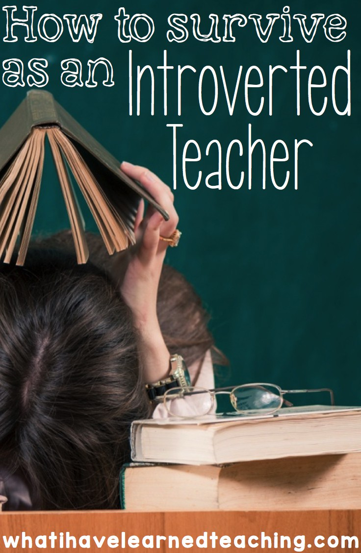 How to Survive as an Introverted Teacher