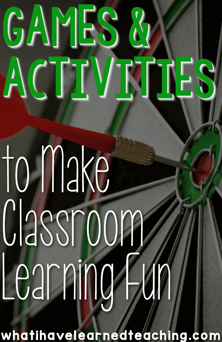 Innovative Classroom Games ~ Games and activities to make classroom learning fun