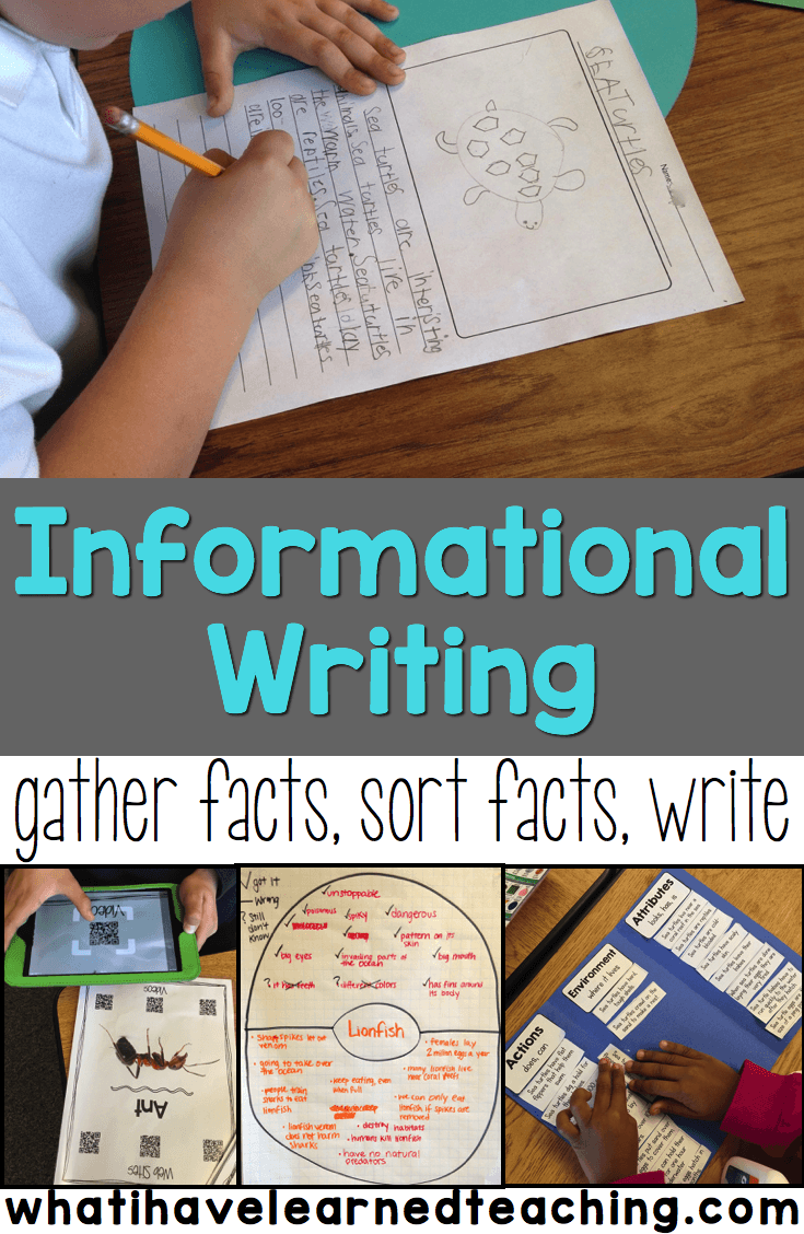 Informational Writing Overview