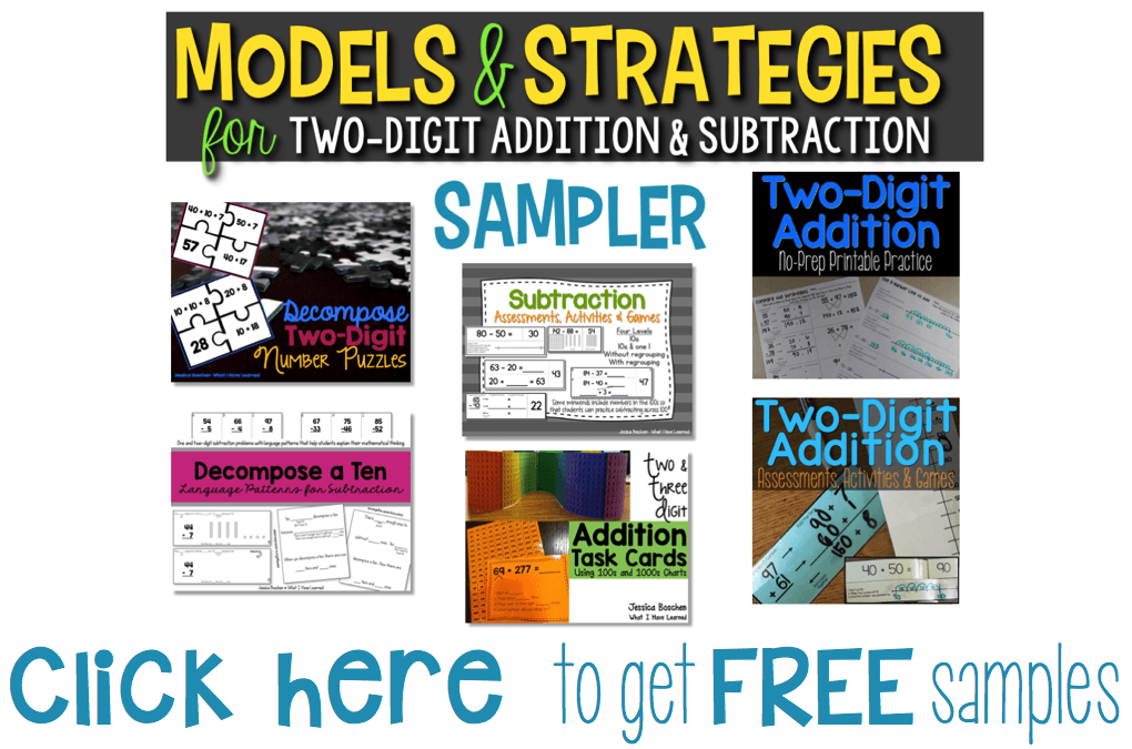Models & Strategies For Two-Digit Addition & Subtraction