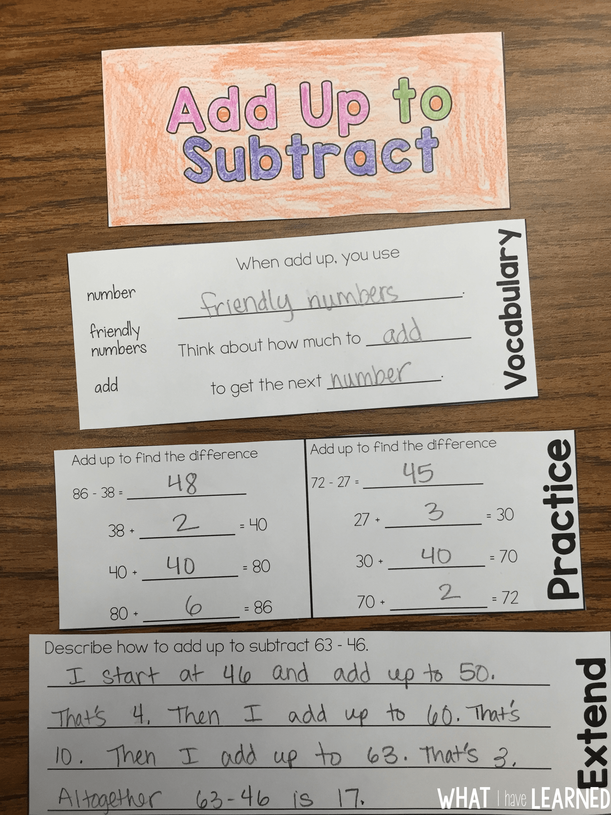 f2fe8199b8e9e Models & Strategies for Two-Digit Addition & Subtraction