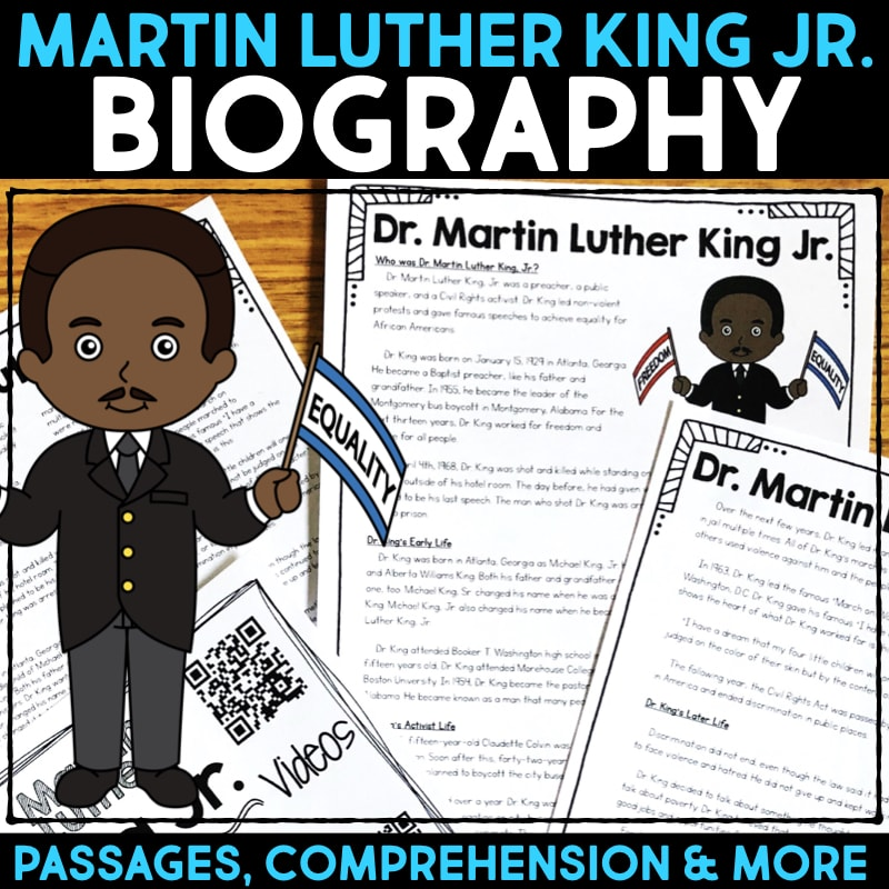 Free Martin Luther King Jr  Ideas for the Classroom