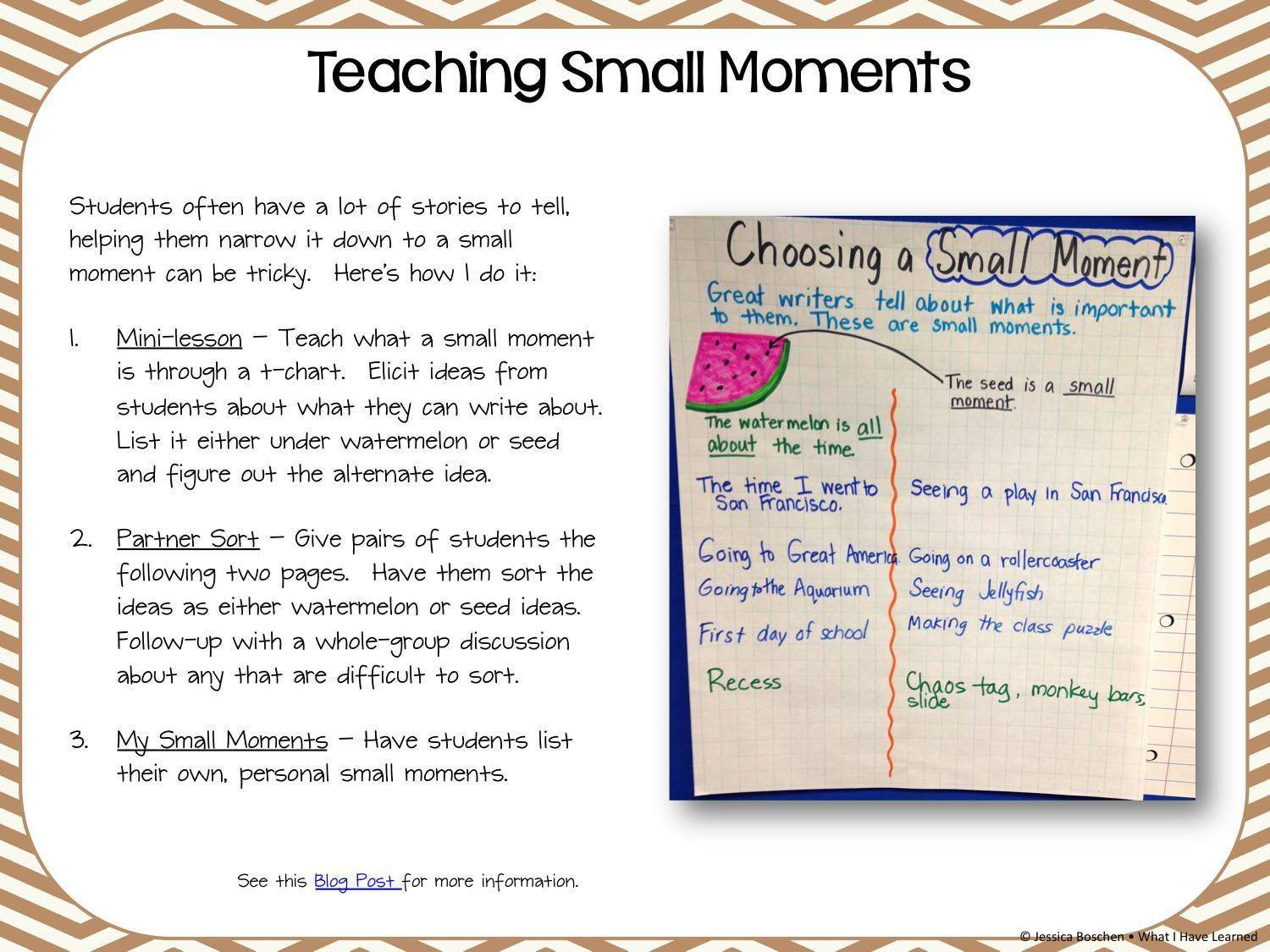 Elementary Writing: Narrative Style