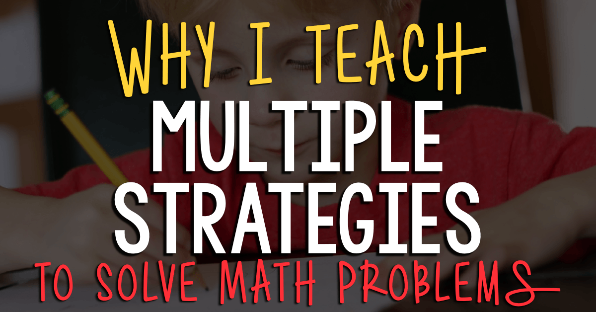 teaching problem solving in mathematics