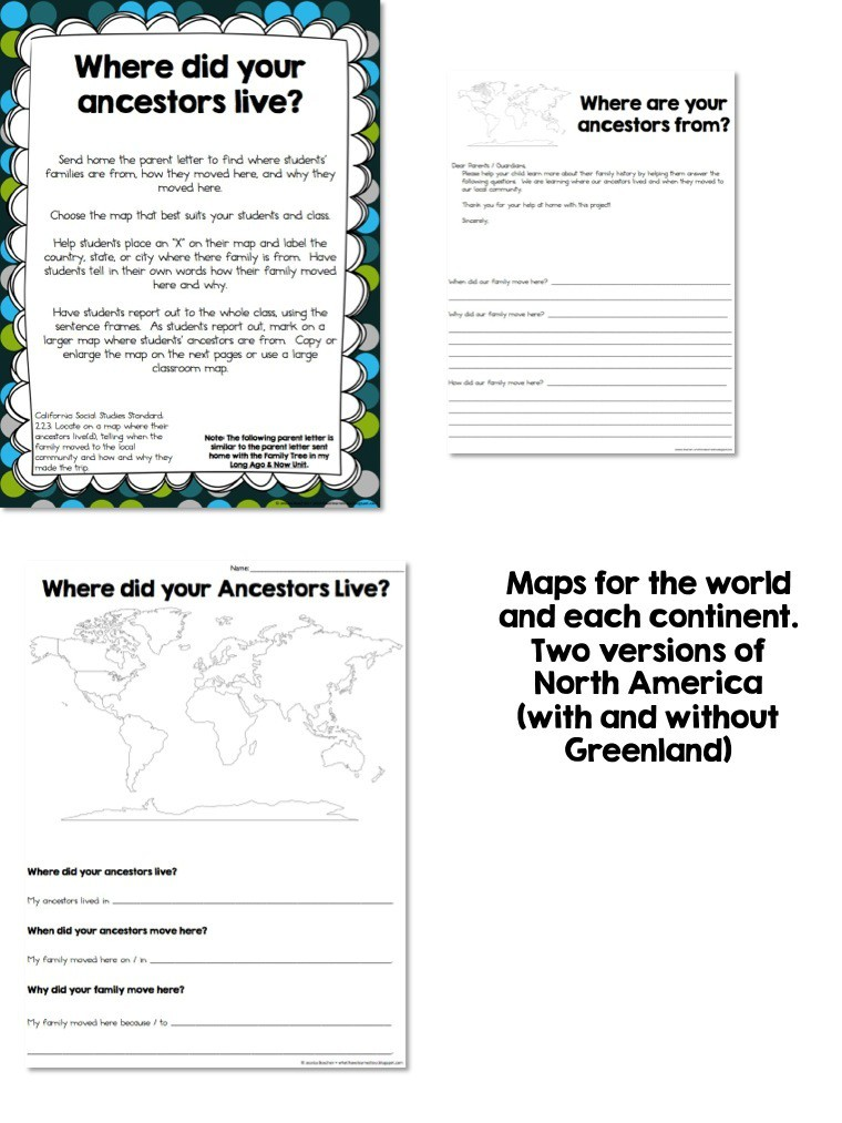 Map Skills  Location Social Studies Unit  What I Have Learned