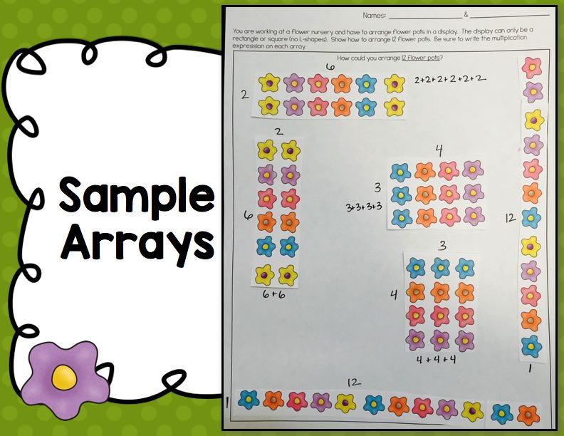 Multiplication Arrays :: Flower Pots & Orchards • What I Have Learned
