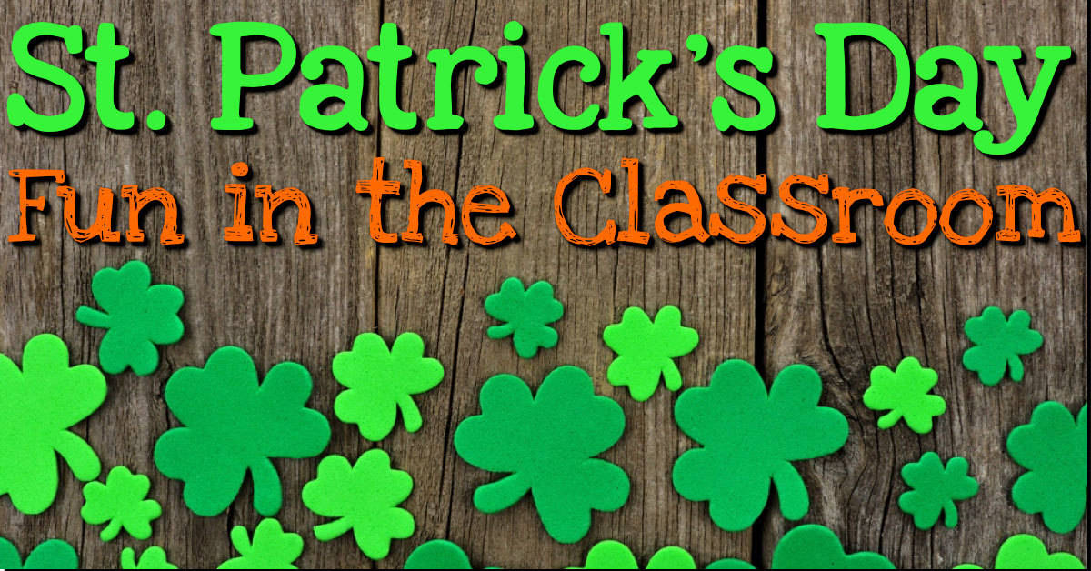 Reading Classroom Design Ideas ~ St patrick s day fun in the classroom