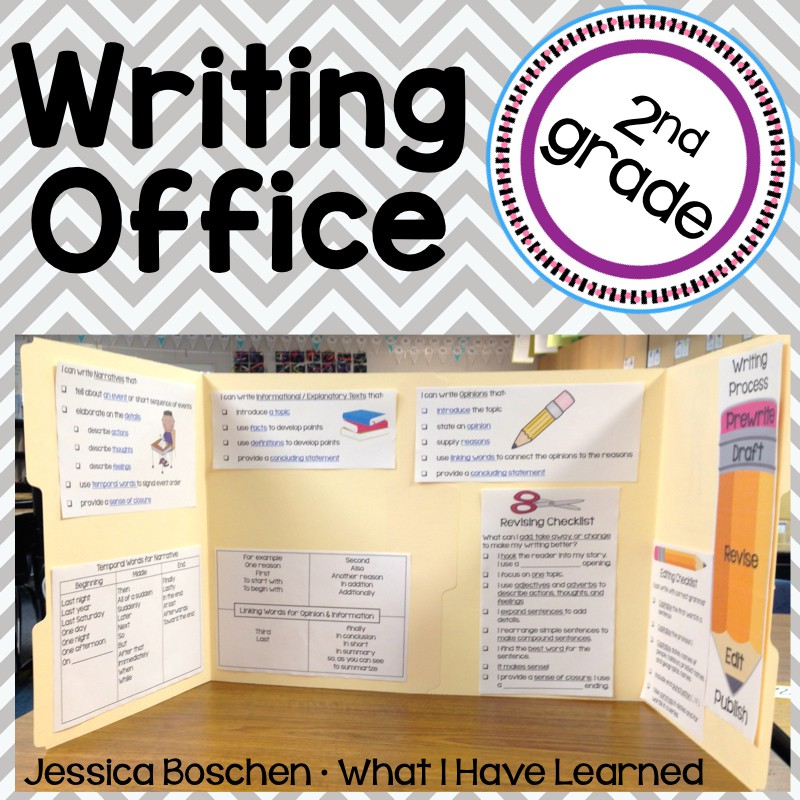 Writing Offices for Second Grade
