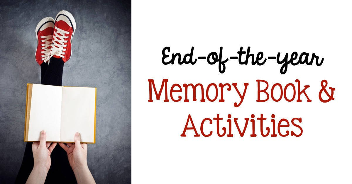Third Grade Classroom Design Ideas ~ End of the year memory book activities