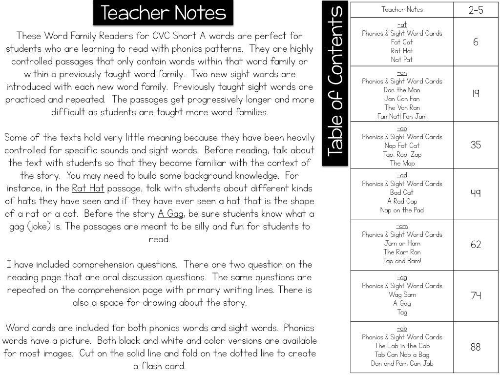 Phonics Passages Bundle What I Have Learned