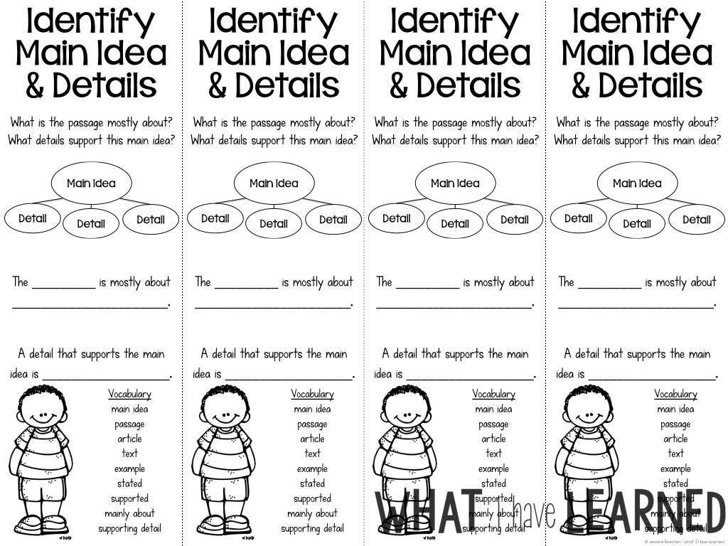 - Reading Comprehension Bookmarks To Support Academic Language