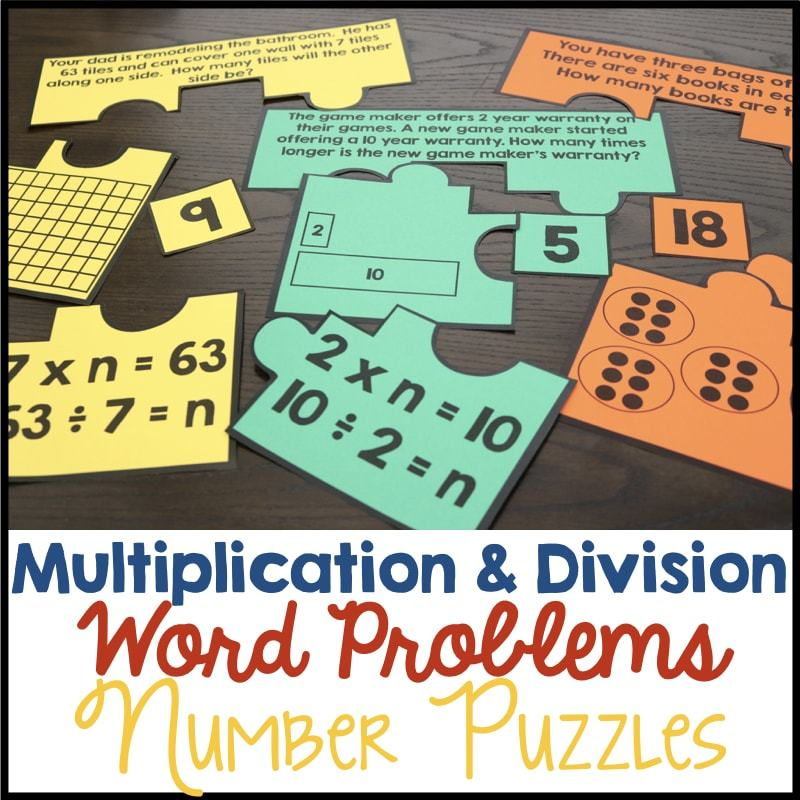 Third Grade Number Puzzles • What I Have Learned