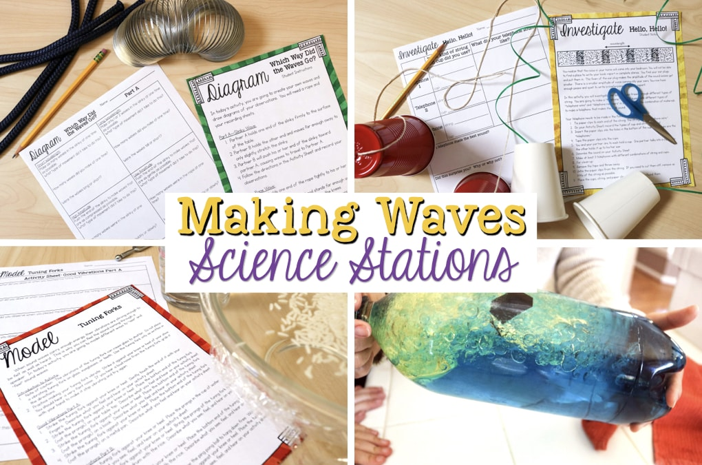Making Waves Sound Wave Properties Fourth Grade Science