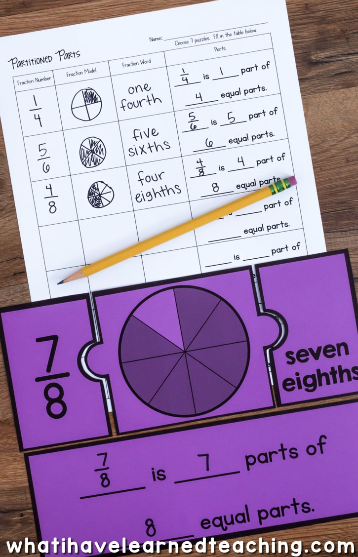 Engage Students With A Variety Of Fraction Number Puzzles That Provide Practice Equivalent Fractions