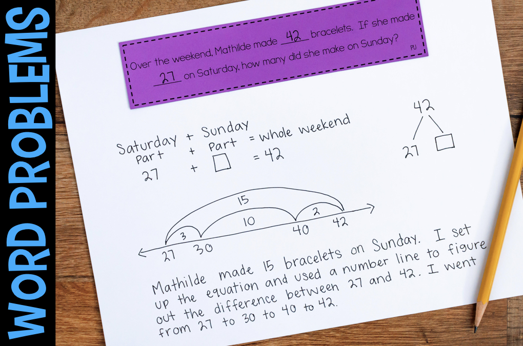 Addition Subtraction Word Problems By Problem Type