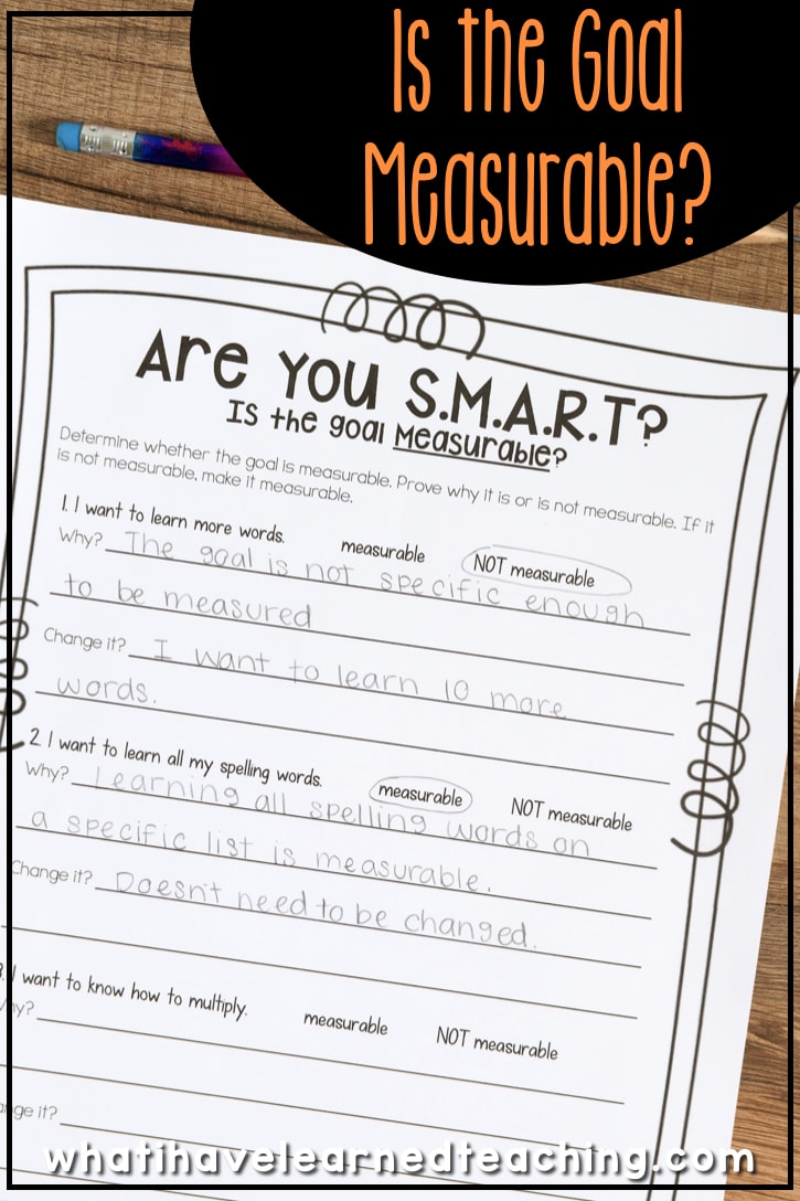 Teach Elementary Students to Set SMART Goals