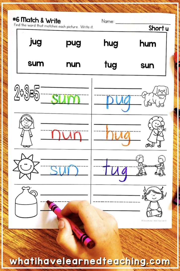 Back To Basics Phonics Worksheets What I Have Learned