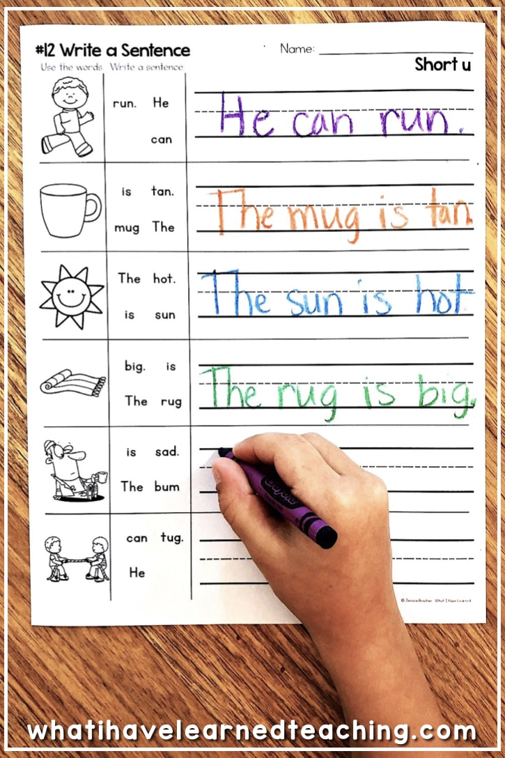 short u phonics worksheets activities. Black Bedroom Furniture Sets. Home Design Ideas