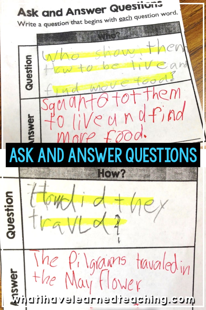 Ask & Answer Questions about Thanksgiving