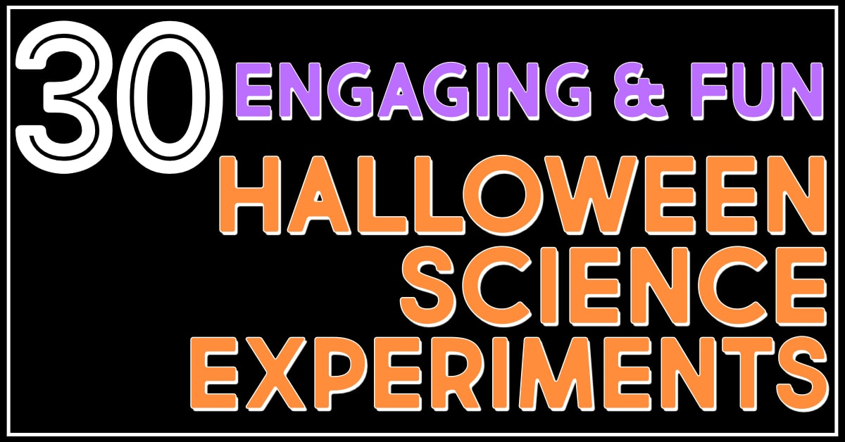 Sink Your Teeth Into 30 Fun Halloween Science Activities For The Elementary Classroom
