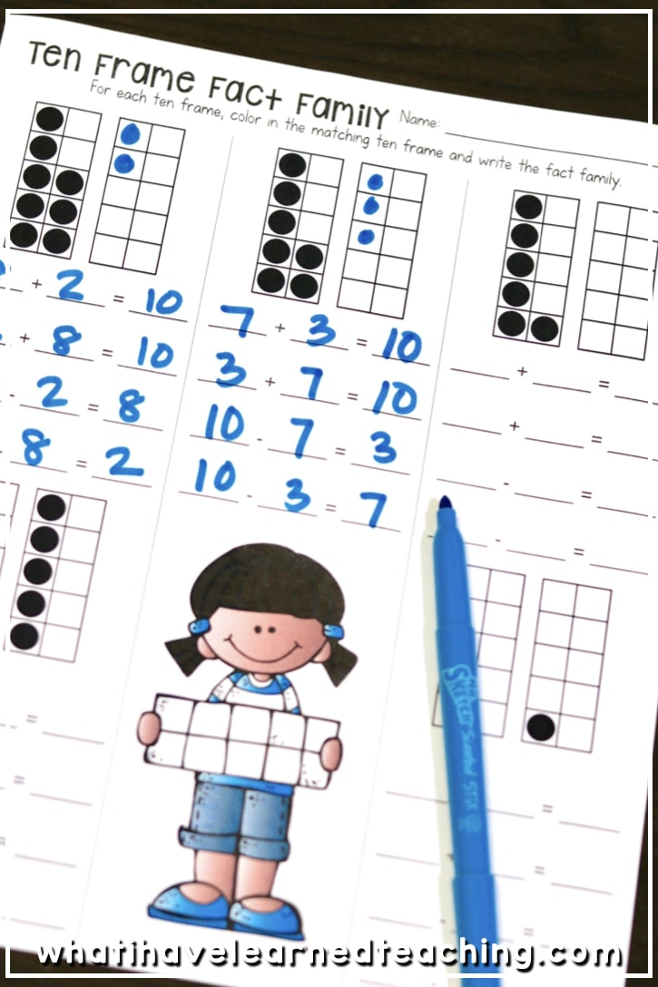 Addition and Subtraction Within 20 - Make 10, Add 10, Use 10
