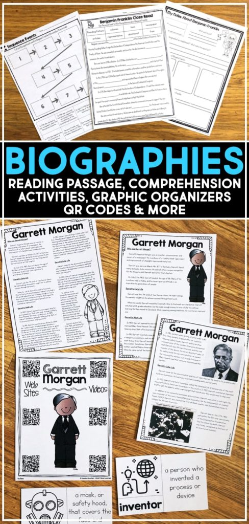 Biographies of Famous People for Elementary Students