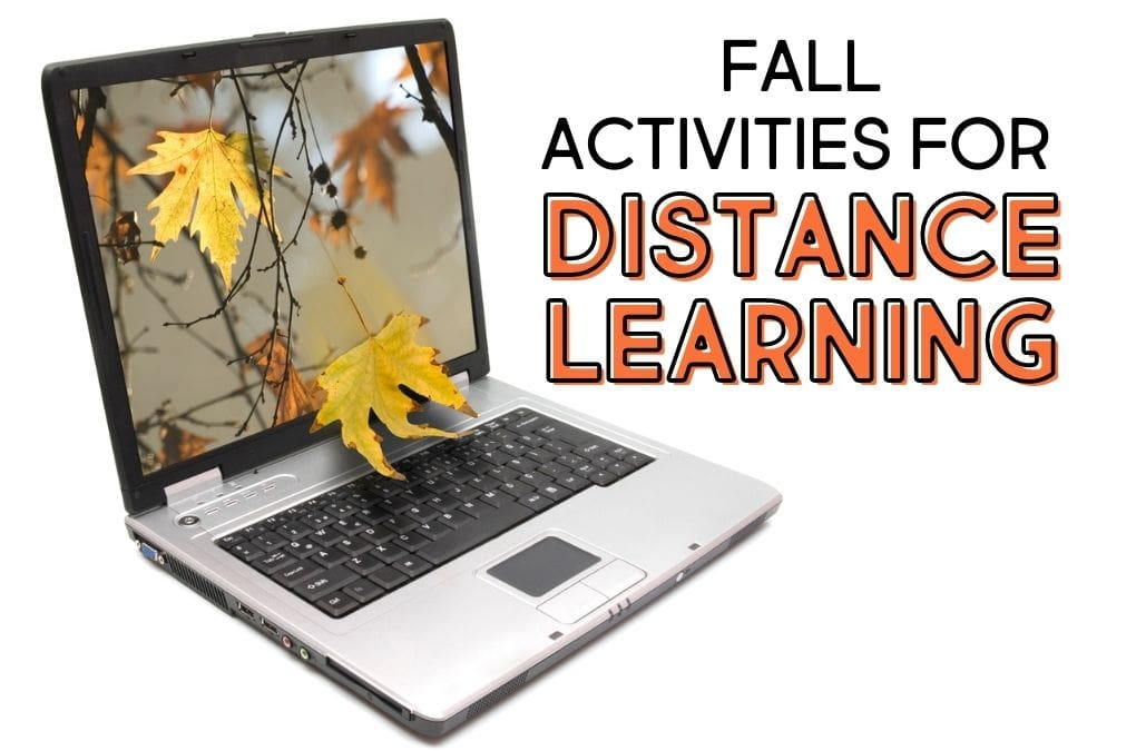 Autumn Activities For Virtual Learning