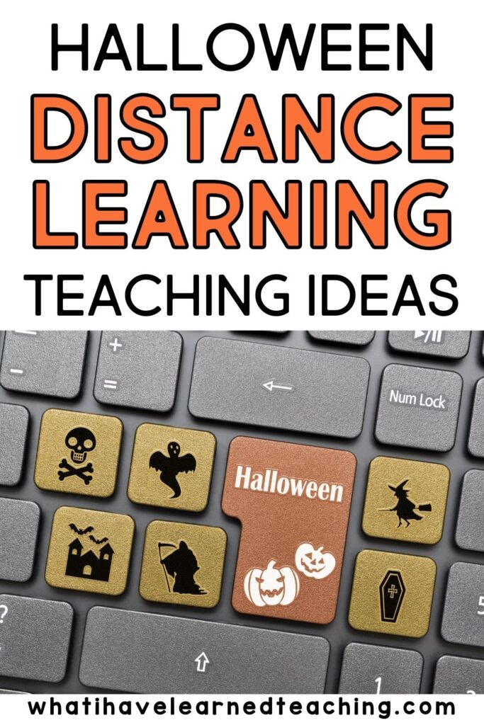 Halloween Activities For Virtual Learning