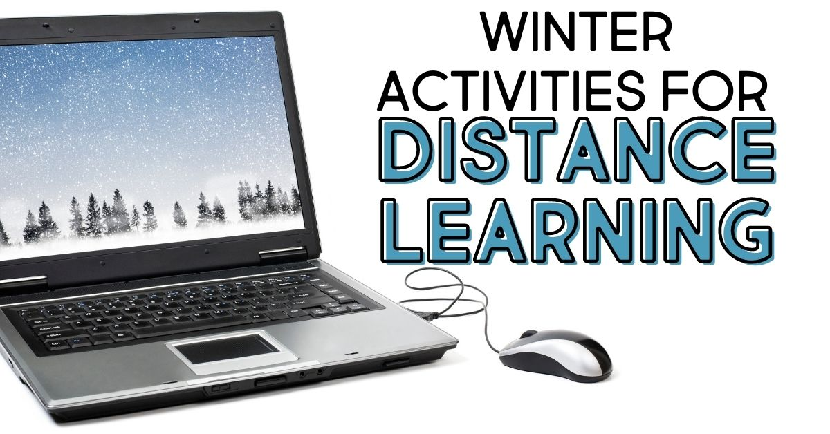Winter Online Activities for Elementary Virtual Learning